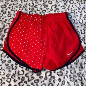 Red Stars Nike Running Shorts
